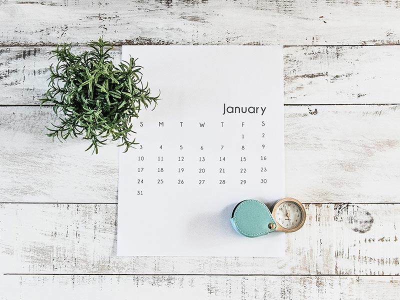 Eisprung berechnen mit der Kalendermethode